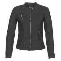 衣服 女士 皮夹克/ 人造皮革夹克 Only STEADY 黑色
