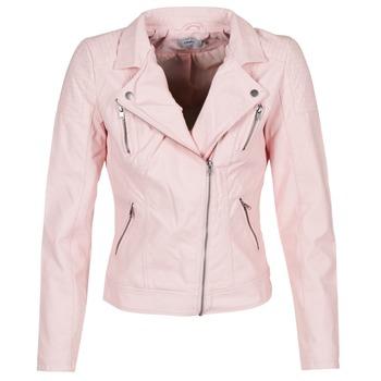 衣服 女士 皮夹克/ 人造皮革夹克 Only STEADY 玫瑰色