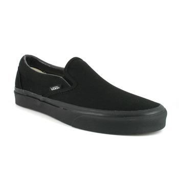 鞋子 平底鞋 Vans 范斯 CLASSIC SLIP ON 黑色 / 黑色