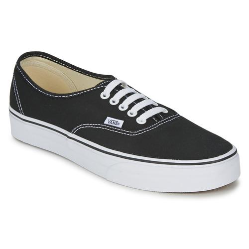 鞋子 球鞋基本款 Vans 范斯 AUTHENTIC 黑色
