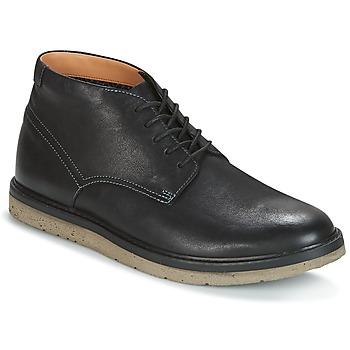鞋子 男士 短筒靴 Clarks 其乐 BONNINGTON TOP 黑色 /  leather