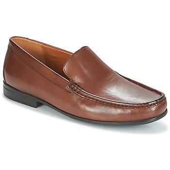 鞋子 男士 皮便鞋 Clarks 其乐 CLAUDE PLAIN 棕色 /  leather