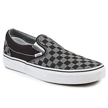 鞋子 平底鞋 Vans 范斯 CLASSIC SLIP-ON 黑色 / 灰色