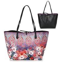 包 女士 购物袋 Desigual BOLS_CAPRI FREYA 玫瑰色 / 多彩