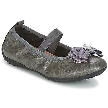 鞋子 女孩 平底鞋 Geox 健乐士 J PIUMA BALLERINES 灰色