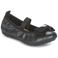 鞋子 女孩 平底鞋 Geox 健乐士 J PIUMA BALLERINES 黑色