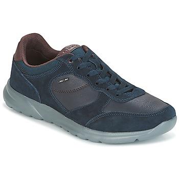 鞋子 男士 球鞋基本款 Geox 健乐士 U DAMIAN 蓝色