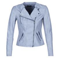 衣服 女士 皮夹克/ 人造皮革夹克 Only AVA 蓝色