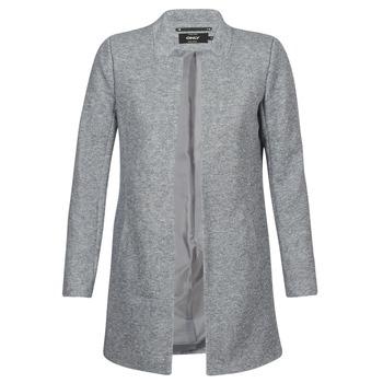衣服 女士 大衣 Only SOHO 灰色