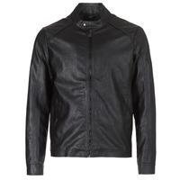 衣服 男士 皮夹克/ 人造皮革夹克 Yurban IMIMID 黑色
