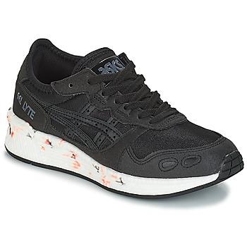 鞋子 儿童 球鞋基本款 Asics 亚瑟士 HYPER GEL-LYTE GS 黑色