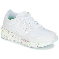 鞋子 儿童 球鞋基本款 Asics 亚瑟士 HYPER GEL-LYTE GS 白色 / 玫瑰色 / 绿色