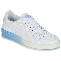 鞋子 女士 球鞋基本款 Onitsuka Tiger 鬼冢虎 GSM LEATHER 白色 / 藍色