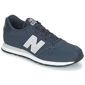 鞋子 男士 球鞋基本款 New Balance新百伦 GM500 海蓝色