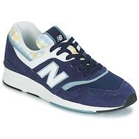 鞋子 女士 球鞋基本款 New Balance新百伦 WL697 蓝色