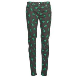 衣服 女士 紧身牛仔裤 American Retro TINA 黑色 / 绿色
