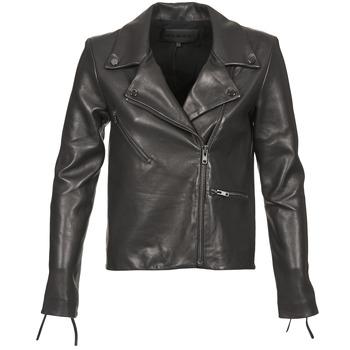 衣服 女士 皮夹克/ 人造皮革夹克 American Retro LEON JCKT 黑色