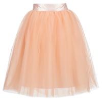 衣服 女士 半身裙 Betty London I-LOVA 玫瑰色 / 米色