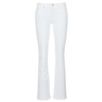 衣服 女士 喇叭牛仔裤 Yurban IALOLAO 白色