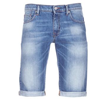 衣服 男士 短褲&百慕大短褲 Yurban IXOLAK 藍色 / 米色