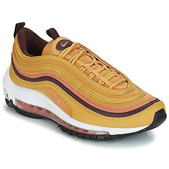 鞋子 女士 球鞋基本款 Nike 耐克 AIR MAX 97 W 黄色
