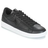 鞋子 女士 球鞋基本款 Nike 耐克 BLAZER LOW ESSENTIAL W 黑色