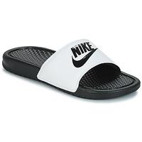 鞋子 男士 拖鞋 Nike 耐克 BENASSI JUST DO IT 白色 / 黑色