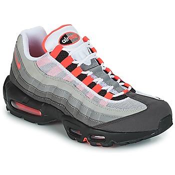 鞋子 男士 球鞋基本款 Nike 耐克 AIR MAX 95 OG 白色 / 红色