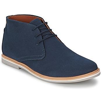 鞋子 男士 短筒靴 Frank Wright BARROW 海军蓝 / Canvas