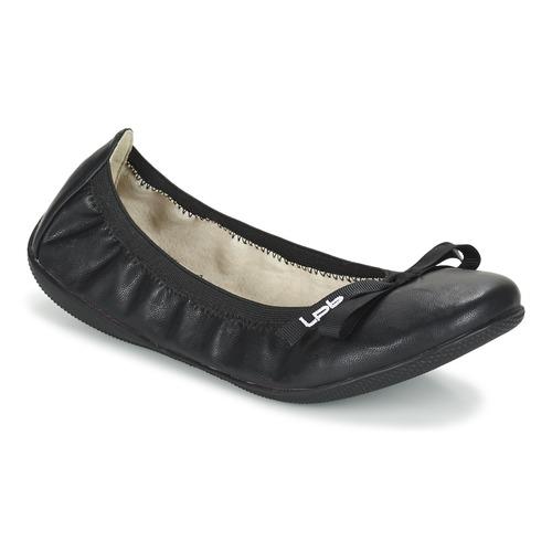 鞋子 女士 平底鞋 Les P'tites Bombes ELLA 黑色