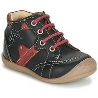 鞋子 男孩 高帮鞋 Catimini GASTON 黑色 / 红色