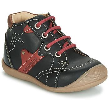 鞋子 男孩 高帮鞋 Catimini GASTON Vts / 黑色