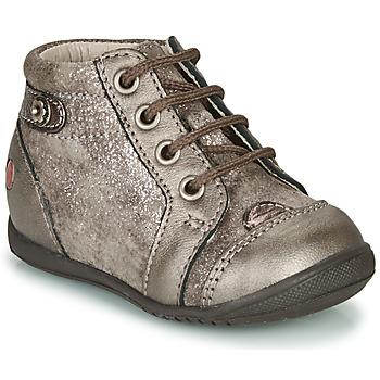 鞋子 女孩 高帮鞋 GBB NICOLE Vtc / 灰褐色