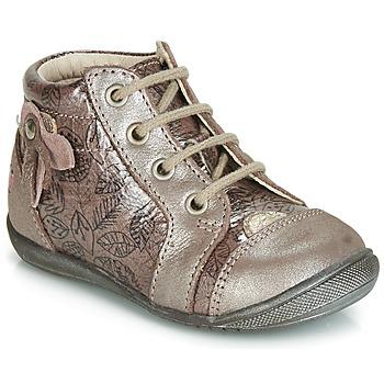 鞋子 女孩 高幫鞋 GBB NICOLE 玫瑰色 / 金色