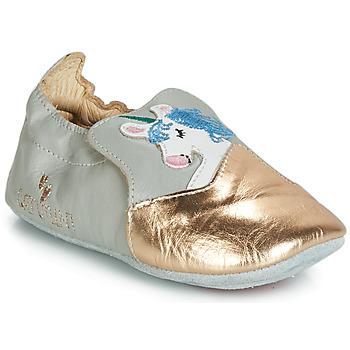 鞋子 女孩 平底鞋 Catimini LICORNETTE Vte / 灰色