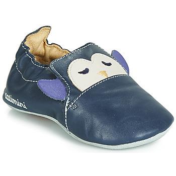 鞋子 男孩 拖鞋 Catimini PINGOU 海蓝色 / 浅米色