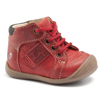 鞋子 男孩 高幫鞋 GBB RACINE Vte / 磚紅色