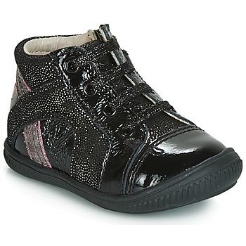 鞋子 女孩 高帮鞋 GBB ROSETTA 黑色 / 银灰色