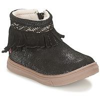 鞋子 女孩 短筒靴 GBB NEFFLE 黑色 / 极光