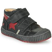 鞋子 男孩 高帮鞋 GBB RADIS Vte / 黑色-砖红色