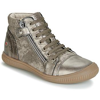 鞋子 女孩 高帮鞋 GBB RACHIDA 灰褐色 / 古銅色