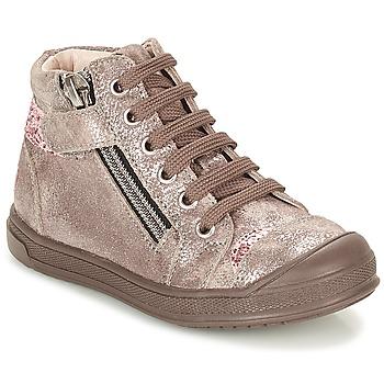 鞋子 女孩 高帮鞋 GBB DESTINY 灰褐色 / 古銅色