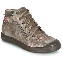 鞋子 女孩 高帮鞋 GBB DESTINY Crt / 灰褐色 / 玫瑰色