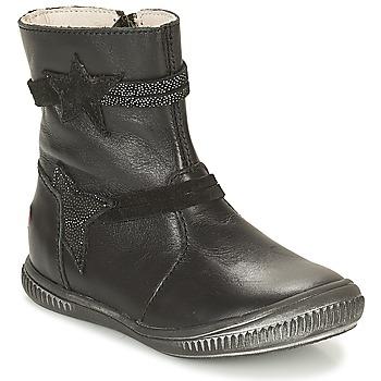 鞋子 女孩 短筒靴 GBB NOTTE 黑色