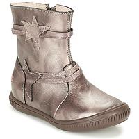 鞋子 女孩 短筒靴 GBB NOTTE 灰褐色 / 古銅色