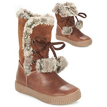 鞋子 女孩 都市靴 GBB NOUSTIK 棕色