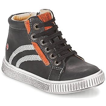 鞋子 男孩 高幫鞋 GBB NESTOR 黑色