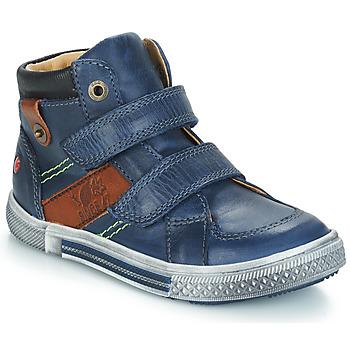 鞋子 男孩 短筒靴 GBB RENDALL 海蓝色 / 棕色