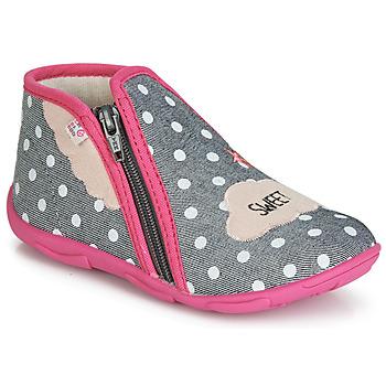 鞋子 女孩 拖鞋 GBB MILKY 灰色 / 玫瑰色
