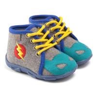 鞋子 男孩 拖鞋 GBB SUPER BOYS 灰色-蓝色